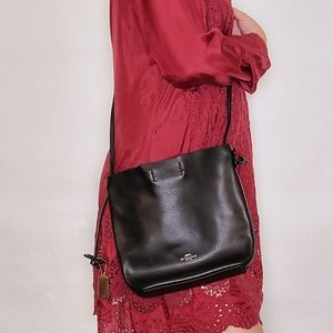 Coach Derby Shoulder Bag Black